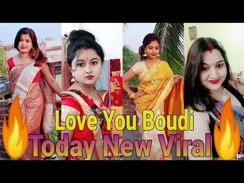 Love You Boudi | New Best Tiktok Video Of Indian Hot Boudi 2020 | So Hot 🔥| Must Be Watch_Part - 02