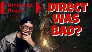 The Nintendo Direct Mini Was Bad?!