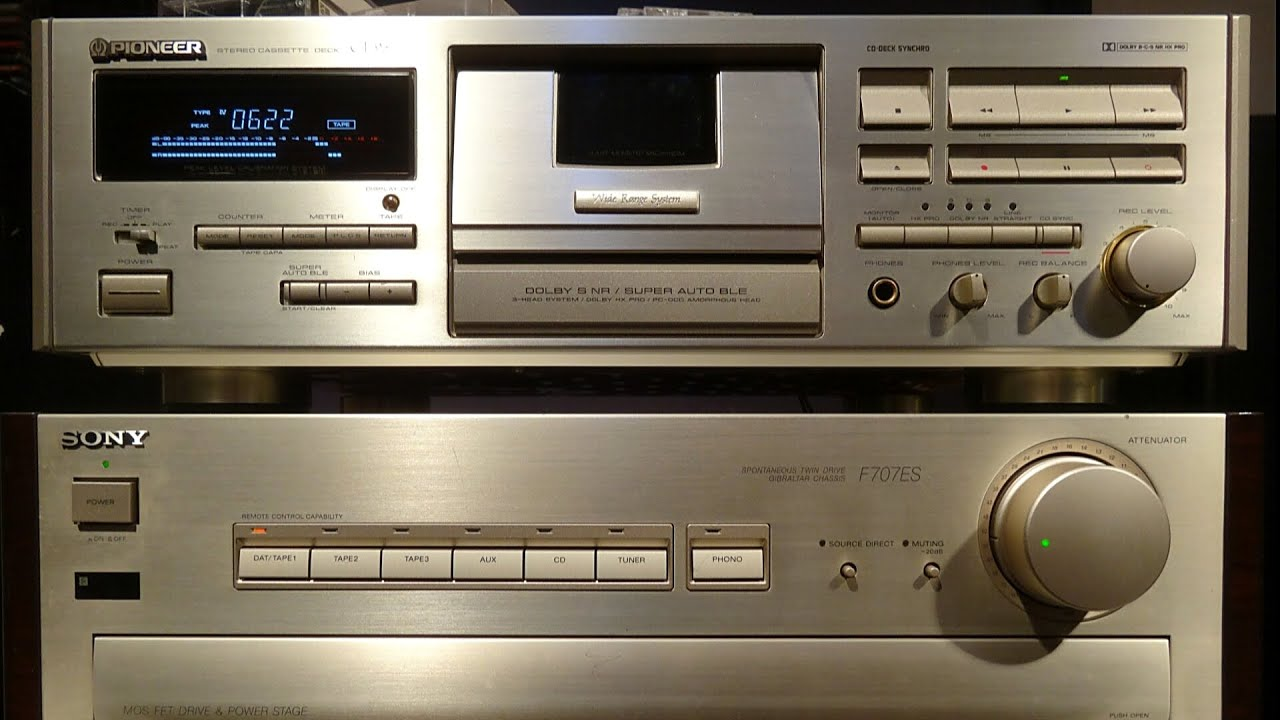 Pioneer Ct-95 World's Best Cassette Deck Test Review