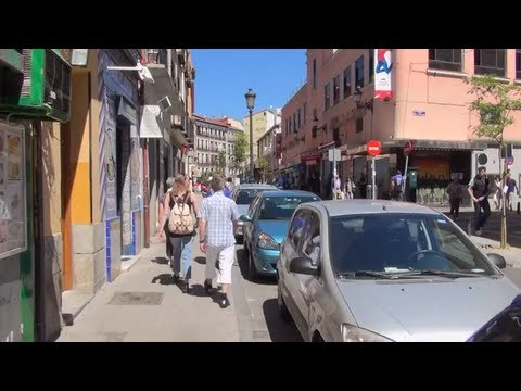 (3D) Madrid Downtown - Typical Market Anton Martin Full HD 1080i