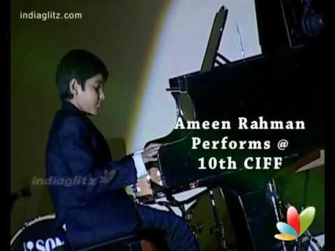 AR Rahman Son | Ameen Rahman Performs @ 10th CIFF