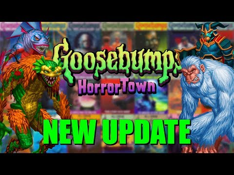 NEW UPDATE, NEW MONSTERS | KC Plays! - Goosebumps HorrorTown | #34
