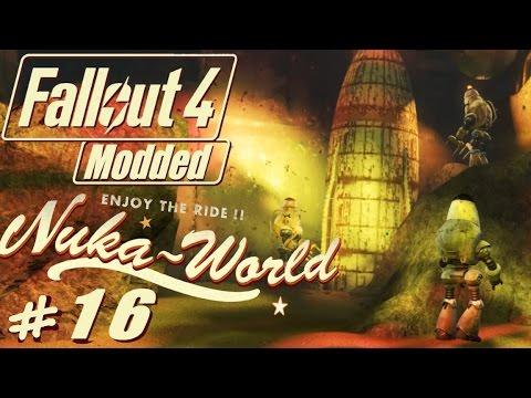 Fallout 4 Nuka World modded #16 Mockup Space Vault