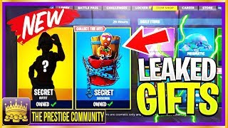 *BRAND NEW* 🎅ALL LEAKED '14 DAYS OF FORTNITE' GIFTS! Season 7 Christmas Leaked Skins, Gliders, More