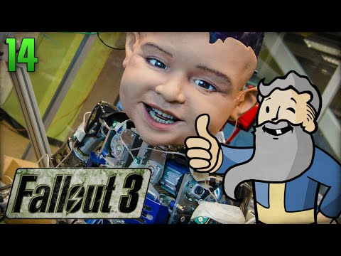 "Fallout 3 Gameplay Walkthrough Part 14 - ""ANDROID HUNTING!!!"" 1080p HD"