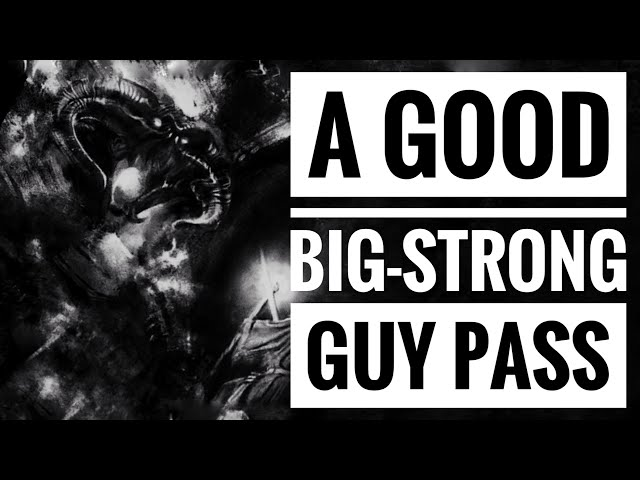 A Good Big-Strong Guy Pass w/ Eli Knight