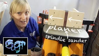 How to turn your spindle sander into a planer