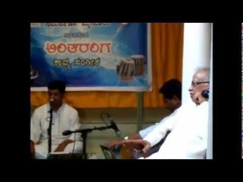 Ishtu kaala Ottigiddu- Sri Shankar Shanbhogue and Dr H S Venkatesh Murthy