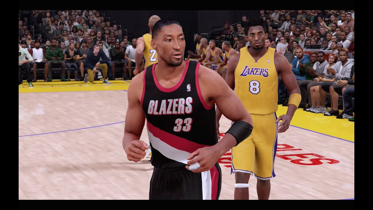 NBA 2K16 99-00 Portland Trail Blazers vs. 00-01 Los