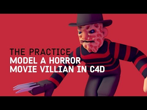 Horror Movie Villain in Cinema 4d // The Practice 69