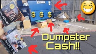 Dumpster Diving apartment complexes  looking for that trash cash