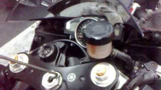 yamaha r6 07 model install pcv in singapore part 1 at team hkl racing www teamhklracing com