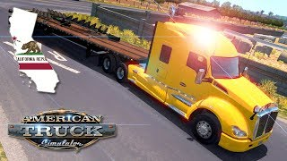 American Truck Simulator (Hard Economy) #49 - SHORT JAUNT IN SO-CAL | Saturday Week 16 (WFHD)