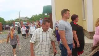 Крестный ход в Раздельной: храм Святителя Иннокентия Одесского