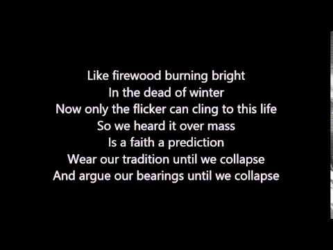 Sleeping At Last- Bad Blood (Lyrics video)