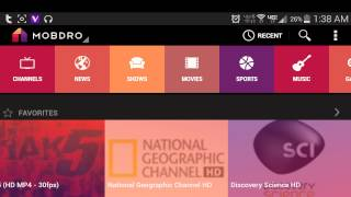 mobdro app for android free cable streaming video review 1080p