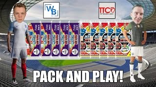 GERMANY vs. ENGLAND | PACK & PLAY | MATCH ATTAX 2016/17