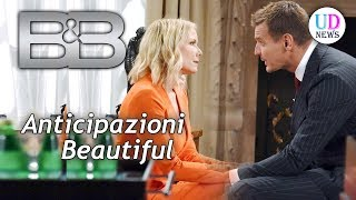 Anticipazioni Beautiful trama puntate 10-15 settembre 2018: Thorne bacia Brooke!
