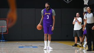 Another good day of practice in the books | Lakers Training Camp 2019