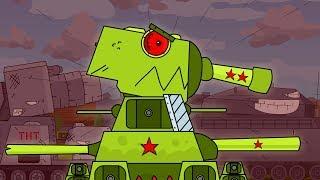 ОН МОНСТР - клип Мультики про танки