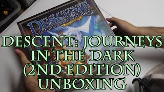Descent: Journeys in the Dark (2nd Edition) Unboxing