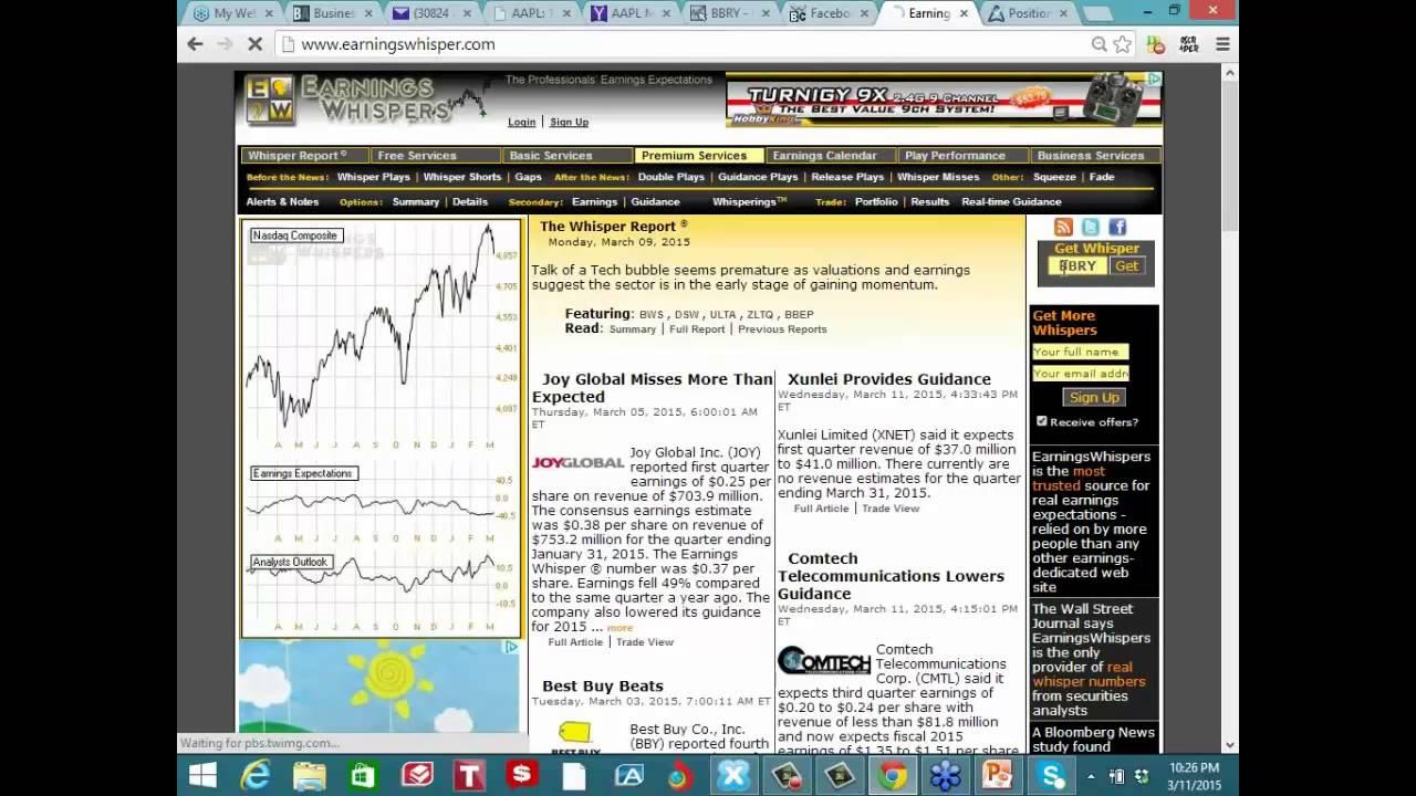 Option action stock trade ideas