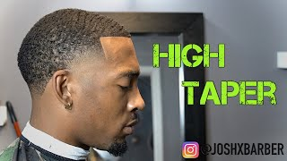 HIGH TAPER TUTORIAL | BABYLISS LIMITED EDITION BLACK FX CLIPPER |