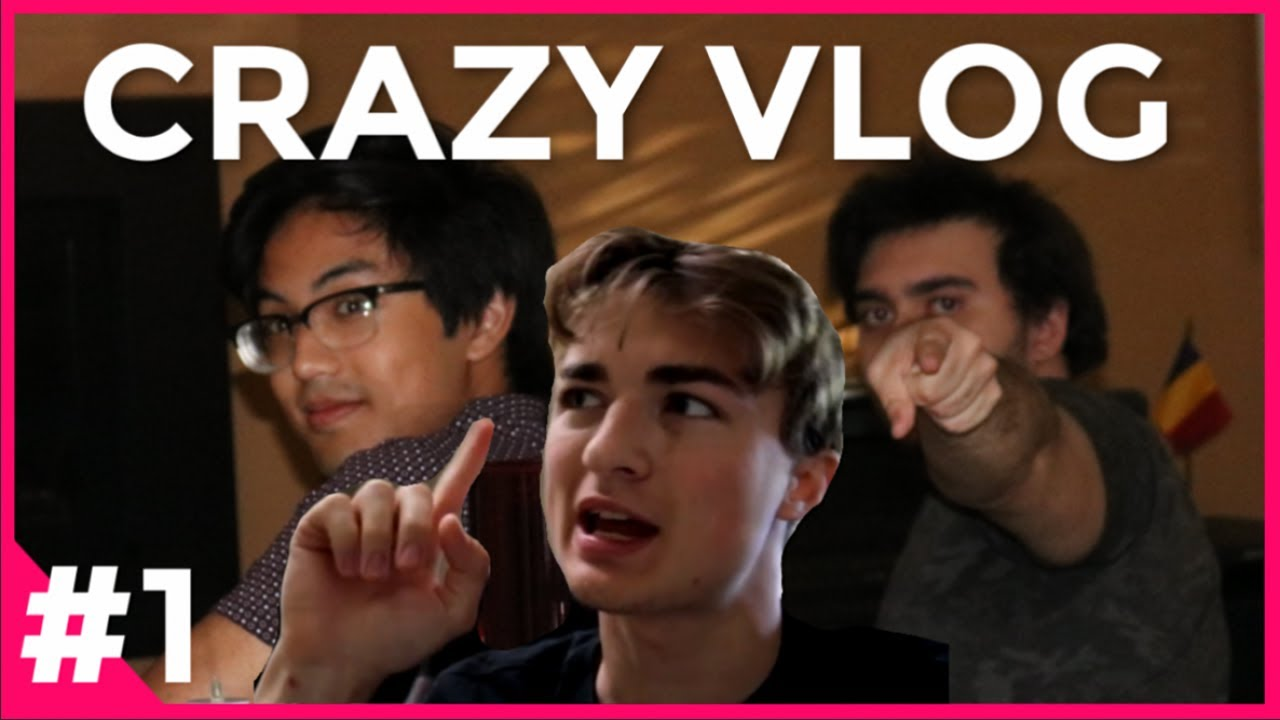 CRAZY VLOG #1: breaking legs and taking pizza