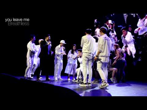 150508 GOT7 Fanmeeting in Chicago Musical Chairs with GOT7