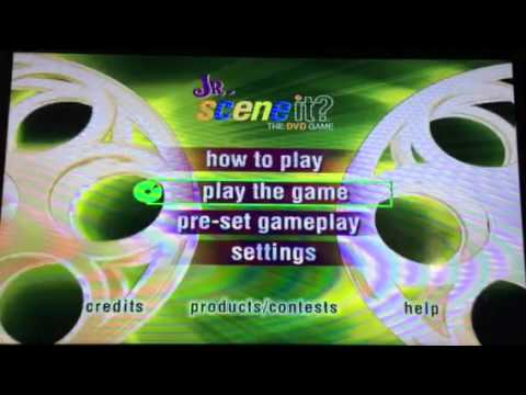 Opening To Scene It Jr The Dvd Game 2004 Dvd 2007 Rerelease Youtube