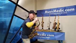 Wilmington Alto Comparison with Max Snyder Live from MusicMedic Sax ProShop