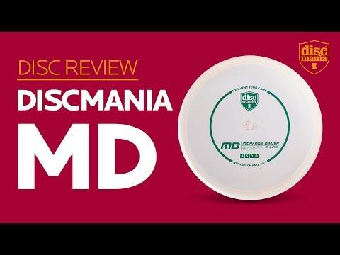 Discmania MD (Midrange Driver) Golf Disc Review