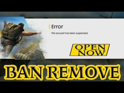 HOW TO OPEN FREE FIRE SUSPEND 2018 WITHOUT ROOT