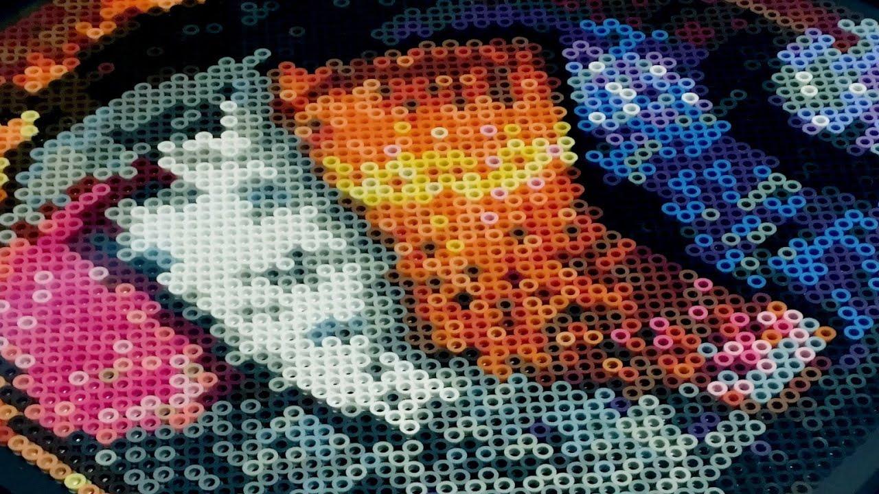 Timelapse Project Poro Perler Bead Art