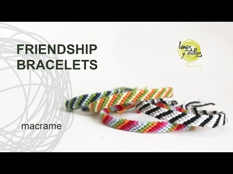 Tutorial Friendship Bracelets Easy for Begginers
