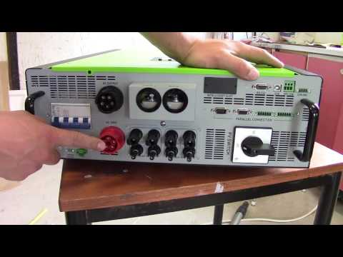 Solar Electricity: Unpacking and quick overview of 10kw hybrid inverter