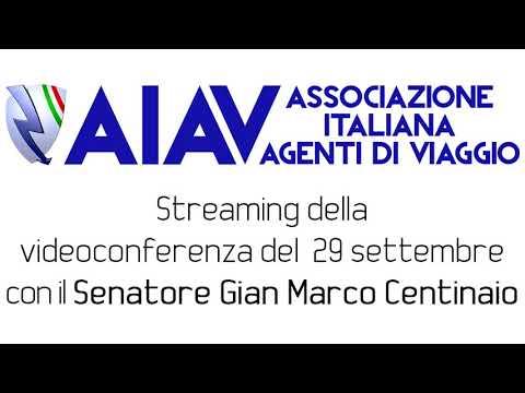AIAV - Incontro del 29/09/2020 con il Senatore Gian Marco Centinaio