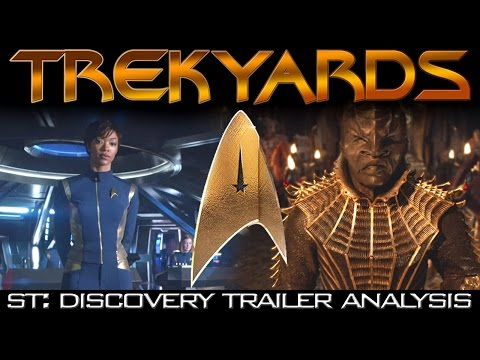 ST: Discovery First Look Trailer - Full Analysis/Review (Trekyards)