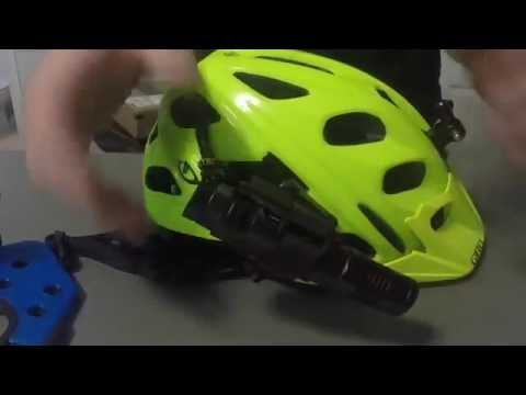 Helmet adapter, new colors, new height adjuster, power cache, and flood light