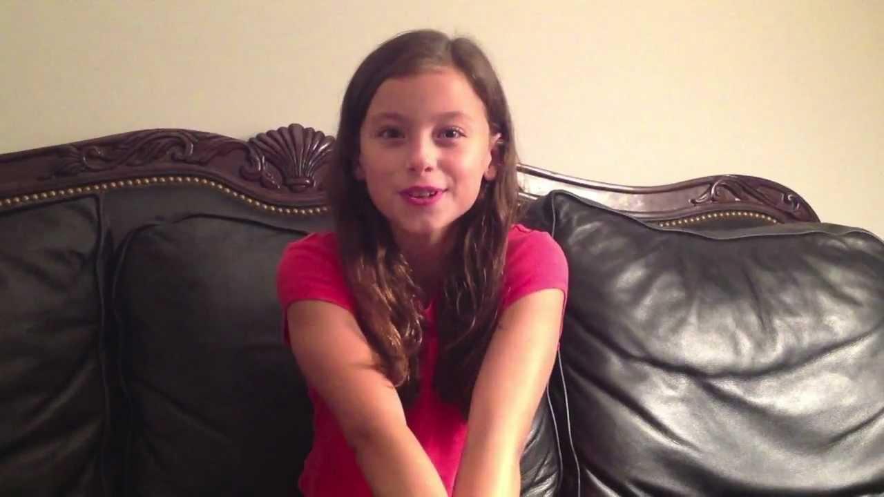 Addison Davis, Age 10 ... Katy Perry Firework Youtube