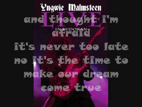 Malmsteen-Forever one with lyrics