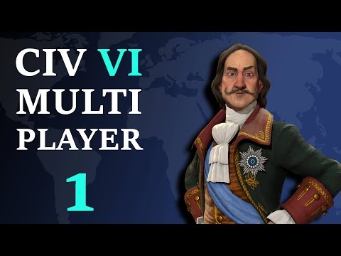 Civilization 6: Multiplayer - Russia Megasode 1 - All Your Land Belongs To Me