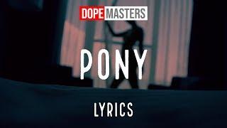 Julian Perretta feat. Lil Baby - Pony (Lyrics)
