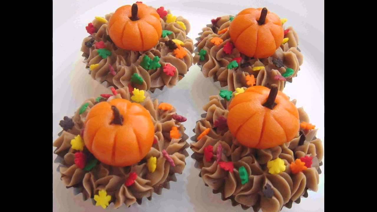 Decorating For Thanksgiving best thanksgiving cupcake decorating ideas - youtube