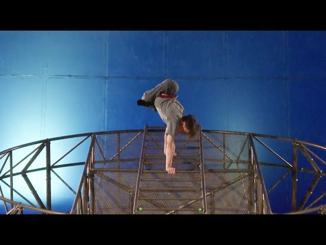 Disabled circus troop performs in Scotland