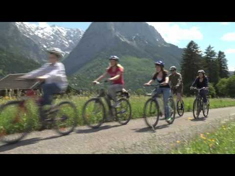 Bike Riding in Garmisch, Germany