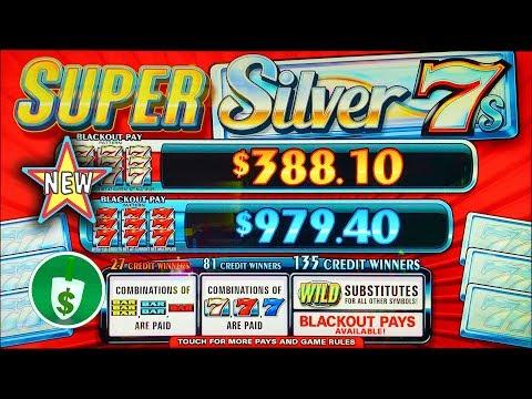 ⭐️ New - Super Silver 7s Slot Machine