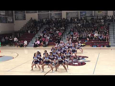 RMHS's Cheerleaders at Rancho Mirage High School's Pep Rally!