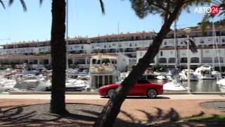 Jaguar F-Type и яхта.  Большой тест-драйв.  Авто24