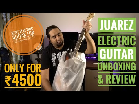 juarez electric guitar unboxing review soundtest best electric guitar for beginners youtube. Black Bedroom Furniture Sets. Home Design Ideas